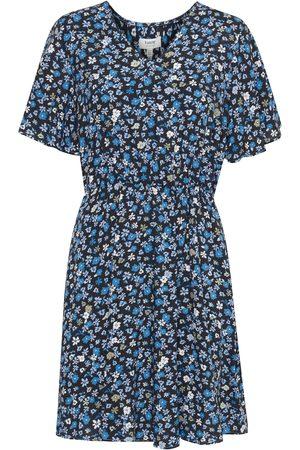 B YOUNG Damen Freizeitkleider - Freizeitkleid mit Allover Print