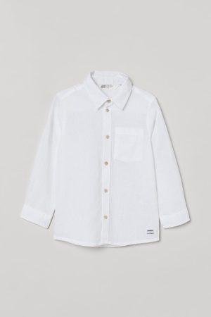 H&M Jungen Hemden - Hemd aus Leinenmischung