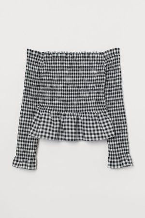 H&M Off-Shoulder-Bluse