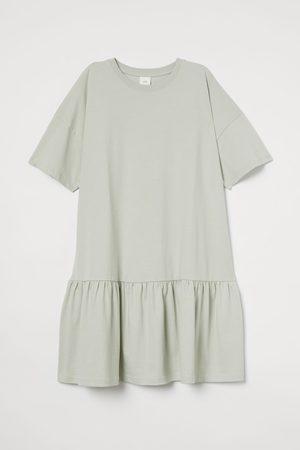 H&M T-Shirt-Kleid aus Baumwolle