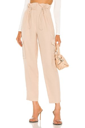h:ours Shaye Paperbag Cargo Pant in . Size XXS, XS, S, M, XL.
