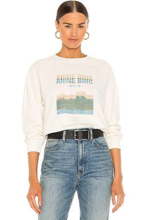 ANINE BING Arlo Desert Road Sweatshirt in . Size XS, S, M.