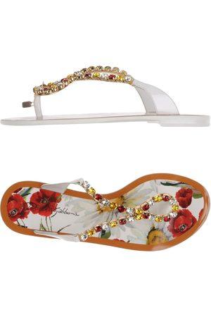 Dolce & Gabbana Damen Flip Flops - SCHUHE - Zehentrenner