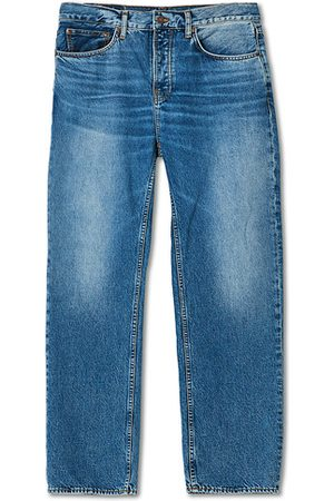 Nudie Jeans Herren Cropped - Tuff Tony Jeans Indigo Travel