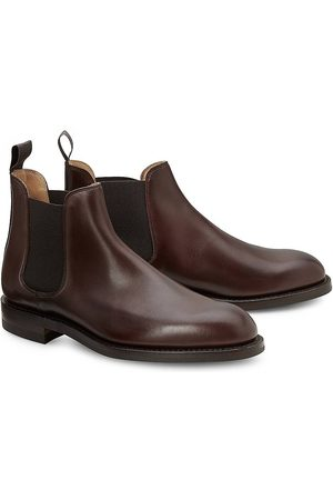 Crockett & Jones Chelsea-Boot in mittelbraun, Stiefel für Herren