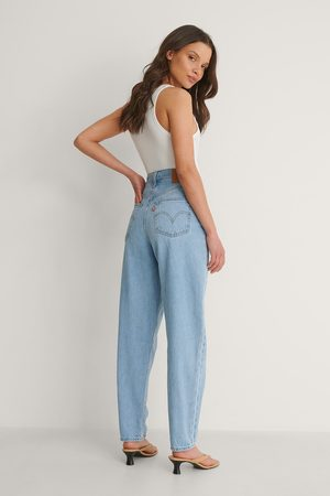 Levi's Levi's High Loose Taper Jeans Near Sighted - Blue