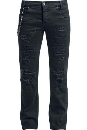 Doomsday Herren Cropped - Dark Reptile Jeans