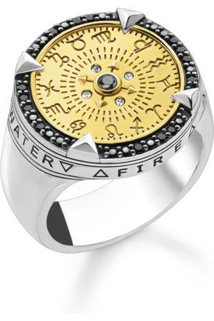 Thomas Sabo Damen Ringe - Ring Elemente der Natur gold