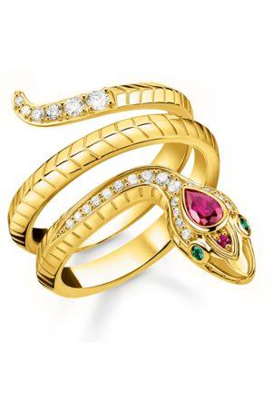 Thomas Sabo Damen Ringe - Ring Schlange gold