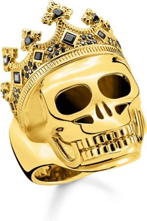 Thomas Sabo Ringe - Ring Totenkopf König gold