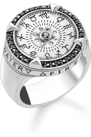 Thomas Sabo Ringe - Ring Elemente der Natur silber