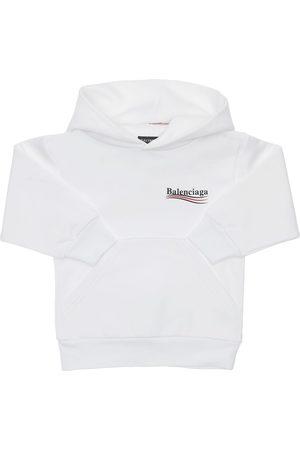 Balenciaga Mädchen Sweatshirts - Hoodie Aus Baumwollfleece