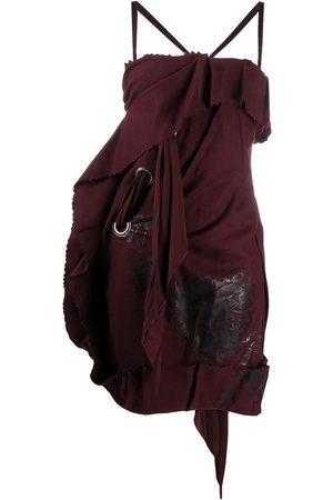 Dior 2000s pre-owned Kleid mit Schnürdetail
