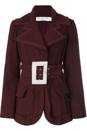 Dior Pre-owned Jacke mit silberfarbener Schnalle