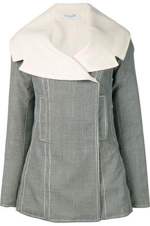 Dior Pre-owned wendbare Jacke mit Glencheck-Karomuster