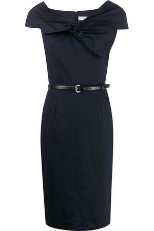 Dior 2000s pre-owned Kleid mit Drapierung