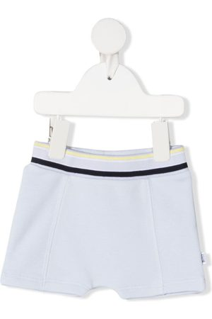 HUGO BOSS Shorts mit Logo-Print