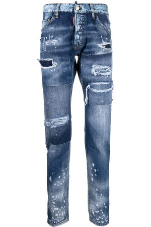 Dsquared2 Slim-Fit-Jeans in Distressed-Optik