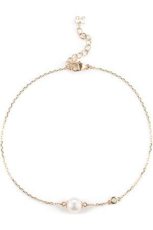 Mateo 14kt Gelbgoldarmband mit Perlen