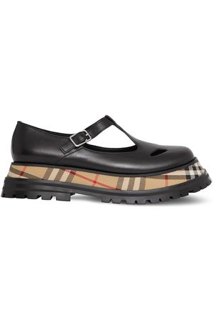 Burberry Mary-Janes mit Check