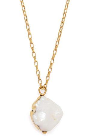 AMBUSH Halsketten - Halskette mit mittelgroßem Perlenanhänger