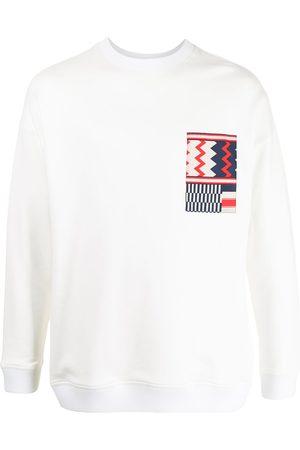 Ports V Sweatshirt mit geometrischem Detail