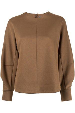 MAME KUROGOUCHI Damen Sweatshirts - Sweatshirt mit Bischofsärmeln