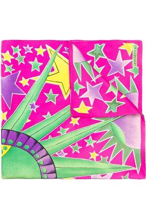VERSACE Damen Schals - Schal mit Stern-Print