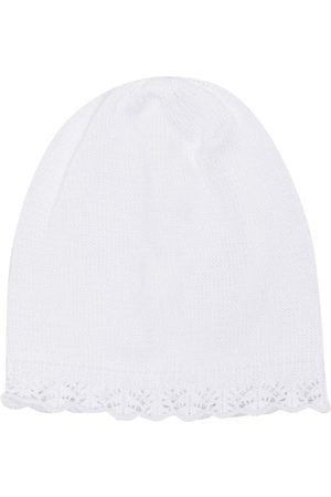 SIOLA Mädchen Hüte - Strickmütze mit Muschelsaum