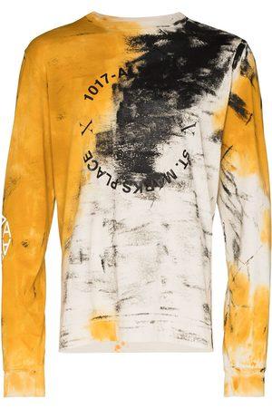 1017 ALYX 9SM Herren Longsleeves - Langarmshirt mit abstraktem Print