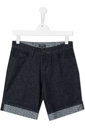 Emporio Armani Jungen Cropped - TEEN Jeans-Shorts
