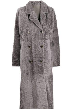 AMEN Mantel mit langem Schnitt