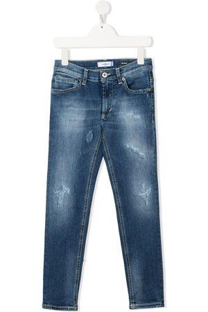 Dondup Slim-Fit-Jeans im Distressed-Look