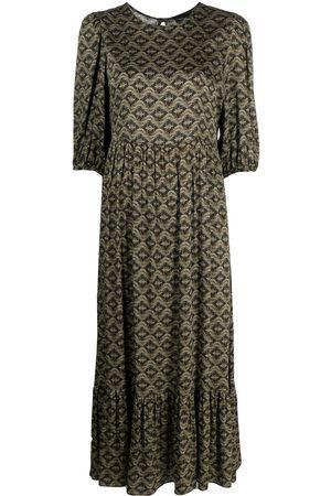 Simonetta Kleid mit geometrischem Print