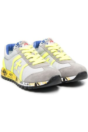 Premiata Sneakers in Colour-Block-Optik