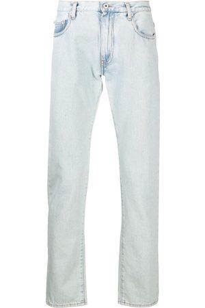 OFF-WHITE Slim-Fit-Jeans mit Streifen