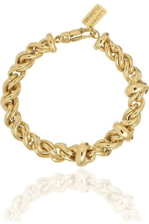 Lauren Rubinski 14kt Gelbgold-Kettenarmband