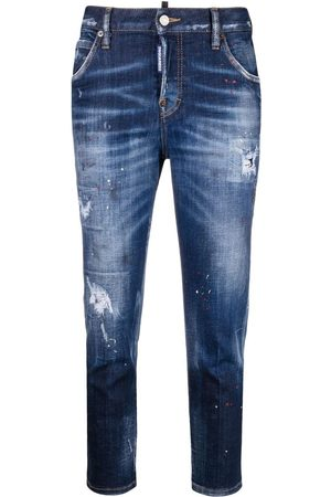 Dsquared2 Mädchen Cropped - Cool Girl Cropped-Jeans