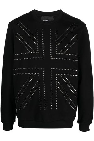 John Richmond Sweatshirt mit Nieten