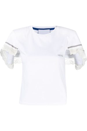 KOCHÉ T-Shirt mit Spitzenborten
