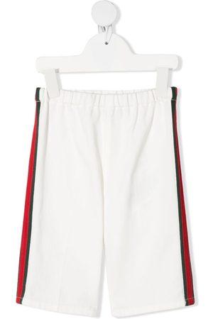 Gucci Joggingshorts mit Webstreifen