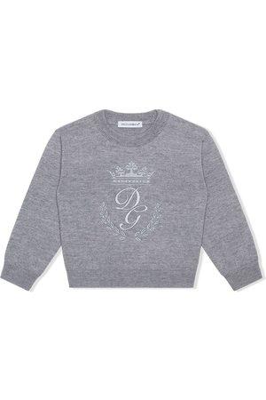 Dolce & Gabbana Pullover mit Logo-Stickerei