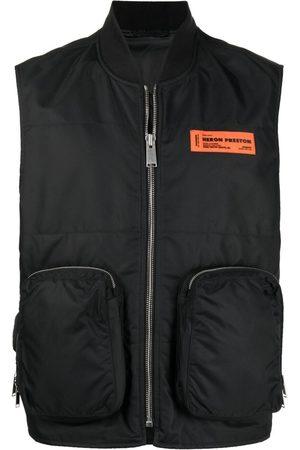 Heron Preston Weste mit Reißverschlusstaschen