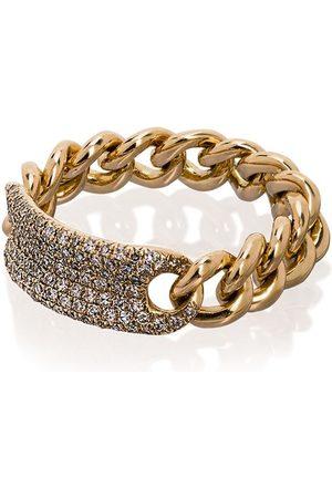 SHAY 18kt Gelbgoldring mit Diamanten