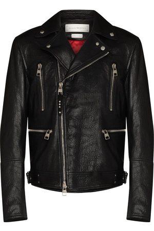 Alexander McQueen Bikerjacke aus Leder
