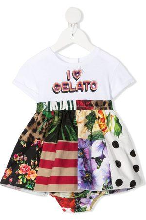 """Dolce & Gabbana Kids Kleid mit """"I heart gelato""""-Print"""