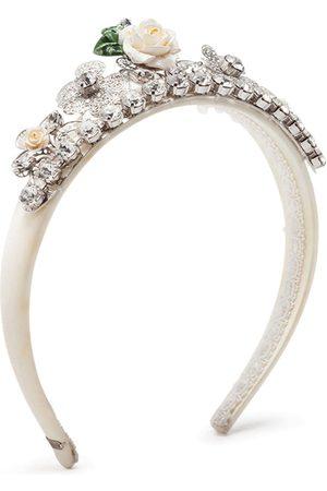 Dolce & Gabbana Haarreif mit Kristallen
