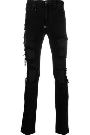Philipp Plein Biker Destroyed Skinny-Jeans