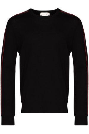 Alexander McQueen Pullover mit Logo-Streifen