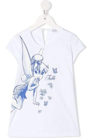 MONNALISA Bluse mit Tinker Bell-Print